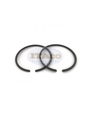 Boat Motor 2 pcs Piston Ring Rings Set 346-00011-0 1 346-87123-0 16054A4 For Tohatsu Nissan Mercury Quicksilver Outboard 30HP 25HP 40HP 50HP Marine 2 stroke Engine 68MM