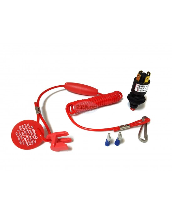 Boat Motor Sierra International Ignition Lanyard BRP Coiled MP28900 switch Outboard Engine