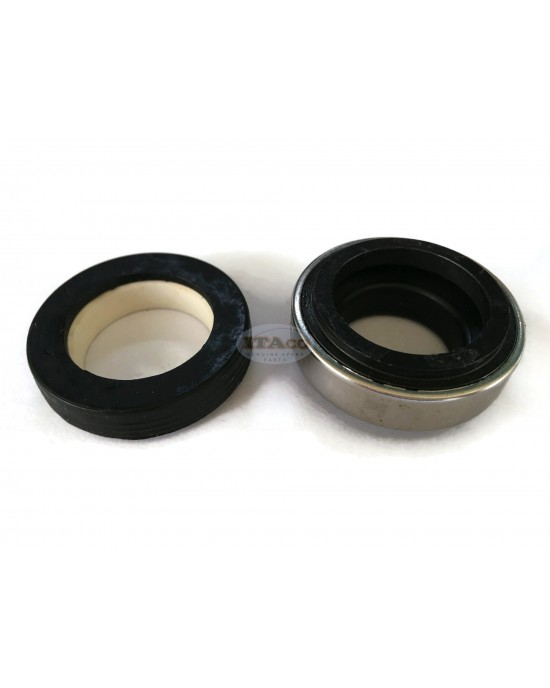 Mechanical Water Pump Shaft Seal Kit AR 24MM Blower Diving Circulating Rotary Ring Plastic Carbon SiC TC Spring Stationary Ring Cermaic Seal Engine