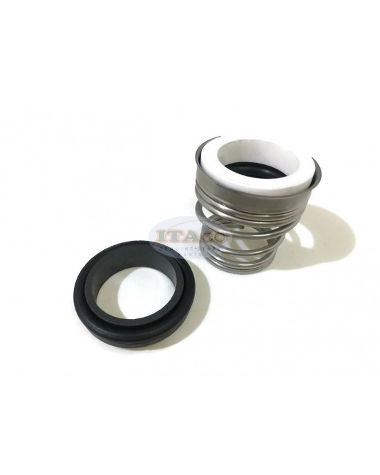 """Mechanical Water Pump Seal Kit Blower Diving Circulating TS 155 24MM 24 MM 0.9055 """" inch R3 Rotary Ring Plastic Carbon SiC TC Spring Stationary Ring Cermaic Seal Engine"""